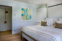 clean bed sheets in Saint Barth Villa Javacanou luxury holiday home, vacation rental
