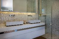 spic-and-span lavatory in Saint Barth Villa Javacanou luxury holiday home, vacation rental