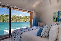 adorable bedroom in Saint Barth Villa Javacanou luxury holiday home, vacation rental