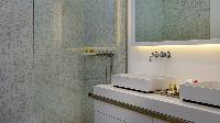 cool shower in Saint Barth Villa Javacanou luxury holiday home, vacation rental