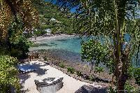 incredible beachfront Saint Barth Villa Javacanou luxury holiday home, vacation rental
