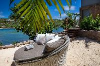 splendid beachfront Saint Barth Villa Javacanou luxury holiday home, vacation rental
