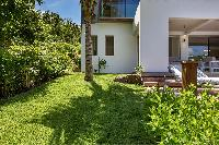 awesome garden of Saint Barth Villa Javacanou luxury holiday home, vacation rental