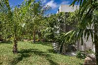 lush garden of Saint Barth Villa Javacanou luxury holiday home, vacation rental