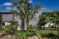 beautiful garden of Saint Barth Villa Javacanou luxury holiday home, vacation rental