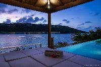 beautiful terrace of Saint Barth Villa Javacanou luxury holiday home, vacation rental