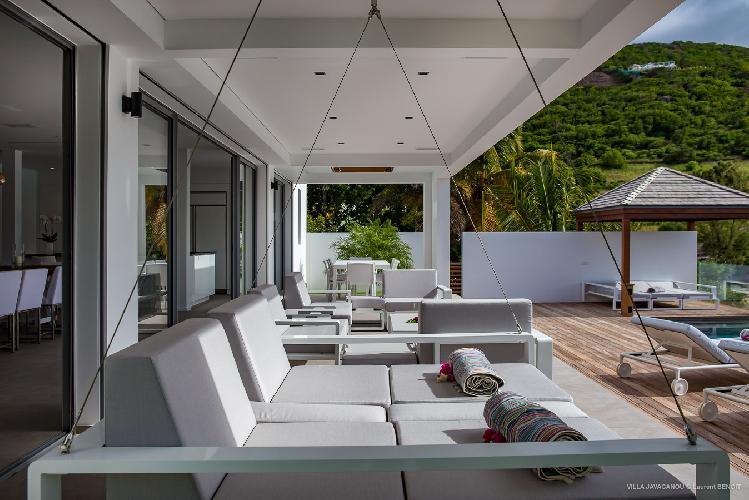 fabulous Saint Barth Villa Javacanou luxury holiday home, vacation rental