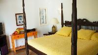 fresh bedroom linens in Saint Barth Villa La Desirade luxury holiday home, vacation rental