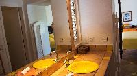 clean lavatory in Saint Barth Villa La Desirade luxury holiday home, vacation rental