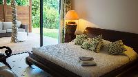 clean bedding in Saint Barth Villa La Desirade luxury holiday home, vacation rental