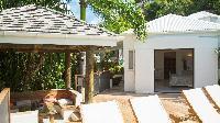 cool grounds of Saint Barth Villa La Desirade luxury holiday home, vacation rental
