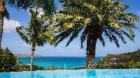 beautiful sea view from Saint Barth Villa La Desirade luxury holiday home, vacation rental