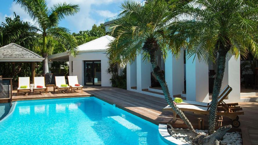 amazing Saint Barth Villa La Desirade luxury holiday home, vacation rental