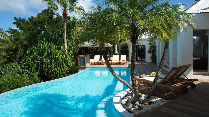 beautiful Saint Barth Villa La Desirade luxury holiday home, vacation rental