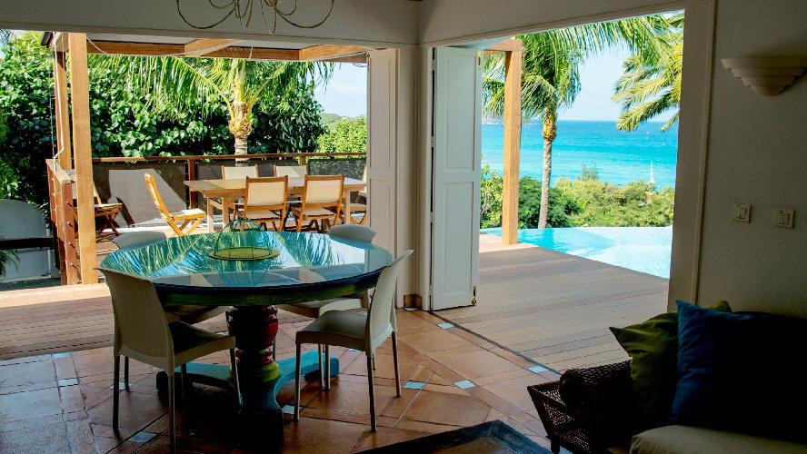 awesome Saint Barth Villa La Desirade luxury holiday home, vacation rental