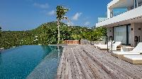 cool infinity pool of Saint Barth Villa Neo luxury holiday home, vacation rental
