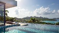 cool swimming pool of Saint Barth Villa Neo luxury holiday home, vacation rental