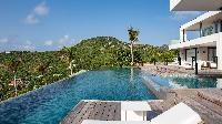 cool deck of Saint Barth Villa Neo luxury holiday home, vacation rental