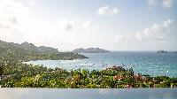 beautiful sea view from Saint Barth Villa Neo luxury holiday home, vacation rental