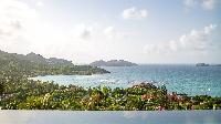 beautiful sea view from Saint Barth Villa Neo luxury holiday home, vacation rental