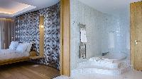 clean bedroom linens in Saint Barth Villa Neo luxury holiday home, vacation rental