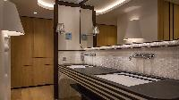 clean lavatory in Saint Barth Villa Neo luxury holiday home, vacation rental