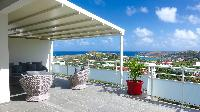 amazing sea view from Saint Barth Villa Pacha luxury holiday home, vacation rental