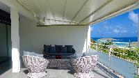 cool swimming pool of Saint Barth Villa Pacha luxury holiday home, vacation rental