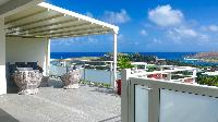 awesome sea view from Saint Barth Villa Pacha luxury holiday home, vacation rental