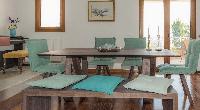 delightful dining room of Corfu Villa Stephandra luxury holiday home, vacation rental