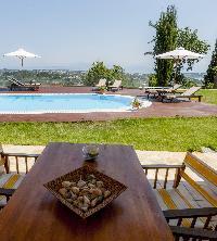invigorating Corfu Villa Stephandra luxury holiday home, vacation rental