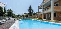 splashing Corfu Villa Stephandra luxury holiday home, vacation rental