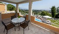 nice patio of Corfu Villa Stephandra luxury holiday home, vacation rental
