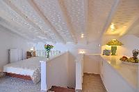 amazing ceiling of Corfu Villa Stephandra luxury holiday home, vacation rental