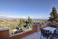 cool terrace of Corfu Villa Stephandra luxury holiday home, vacation rental