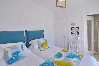 clean bed sheets in Corfu Villa Stephandra luxury holiday home, vacation rental