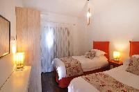clean bedroom linens in Corfu Villa Stephandra luxury holiday home, vacation rental