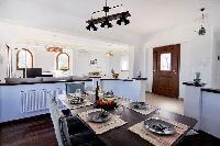 awesome kitche of Corfu Villa Stephandra luxury holiday home, vacation rental