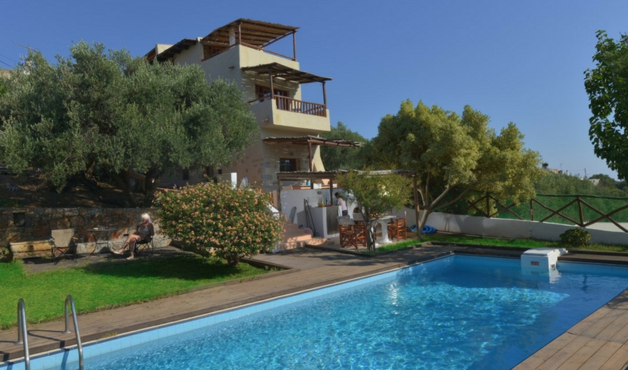 Crete Villa Almond Tree 1