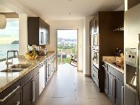 cool modern kitchen of Costa Rica Diamante del Sol 801N luxury apartment
