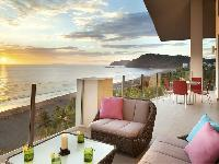 beautiful balcony of Costa Rica Diamante del Sol 801N luxury apartment