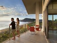 beautiful sea view from the deck of Costa Rica Diamante del Sol 801N luxury apartment