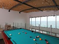 cool pool table in the game room of Costa Rica Diamante del Sol 801N luxury apartment