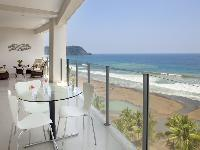 beautiful ocean view from the deck of Costa Rica Diamante del Sol 901S luxury apartment