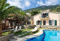 beautiful Corfu Villa Benele luxury holiday home, vacation rental