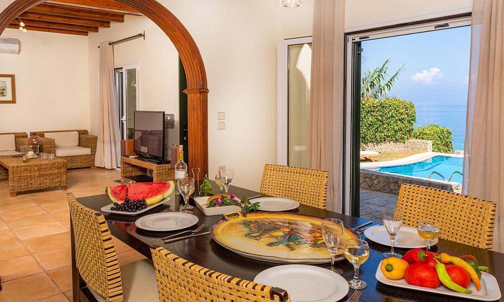 fabulous Corfu Villa Benele luxury holiday home, vacation rental