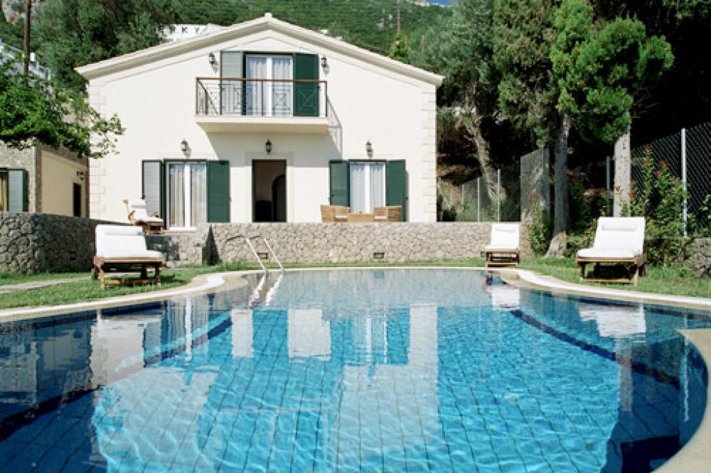 awesome Corfu Villa Benele luxury holiday home, vacation rental