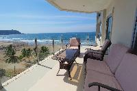 awesome balcony of Costa Rica Ocean View Junior Penthouse luxury apartment