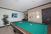 cool pool table in the game room of Costa Rica Ocean View Junior Penthouse luxury apartment