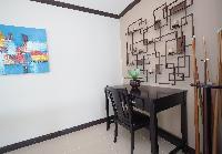 neat furnishings in Costa Rica Ocean View Junior Penthouse luxury apartment